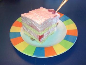 Erdbeer-Schnitten - Rezept