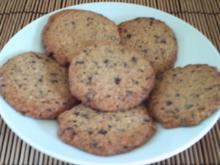 Chocolate-Pecan-Cookies – amerik. Art - Rezept