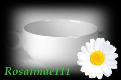 Knoblauchsuppe mit Salatstreifen - Rezept
