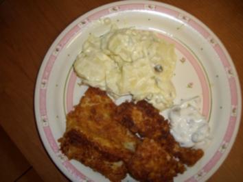 Fischstäbchen in Cornflakes-Kruste - Rezept