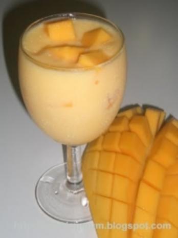 Mango-Kokos-Smoothie - Rezept