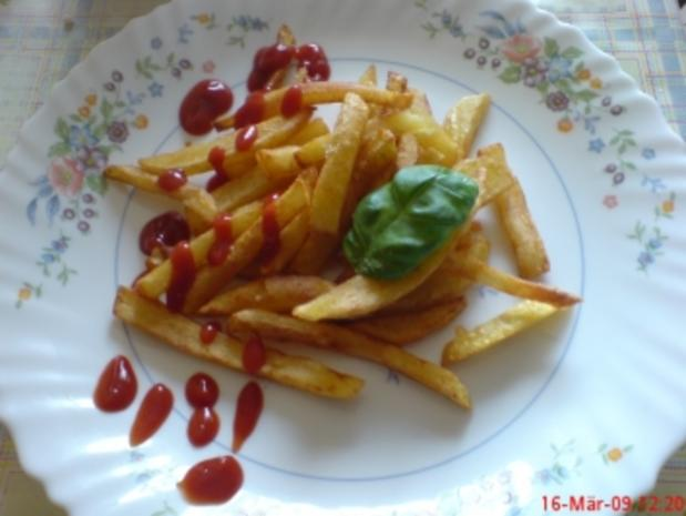 Pommes selbst gemacht *ganz easy* - Rezept