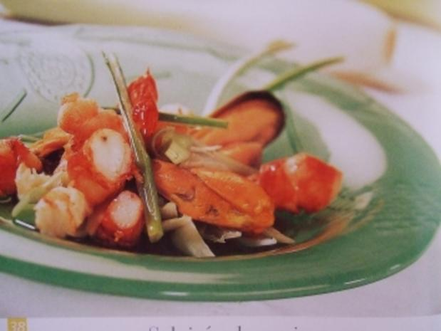 Meeresfrüchtesalat - Salpicon de mariscos - Rezept