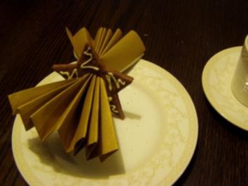 -Essen & Deko- Essbare Serviettenringe für Weihnachten - Rezept