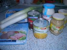Kidneybohnen Schichtsalat - Rezept