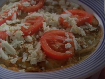 Feta-Buchweizenpfannkuchen - Rezept