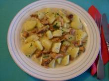 Pfifferlings-Kartoffel-Gulasch - Rezept