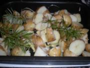 Heurige mit Rosmarin aus dem Ofen - Rezept