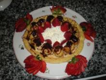 Saint Honore Torte mit Erdbeeren - Rezept