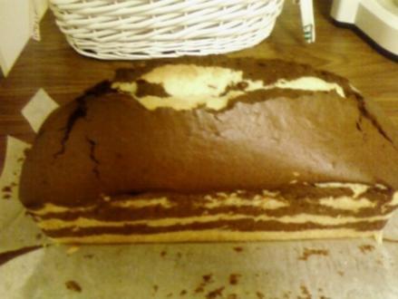 Schwarz-Weiß-Kuchen - Rezept