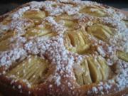 Apfel-Ricotta-Kuchen - Rezept