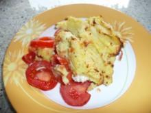 Hähnchenfilet mit Kartoffel- Kräuterkruste - Rezept
