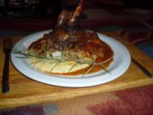 Lammhaxen aus dem Ofen - Rezept