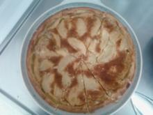 Aprikosen-Apfel-Kuchen - Rezept