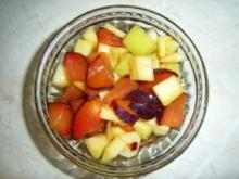 Mango-Pflaumen-Salat - Rezept
