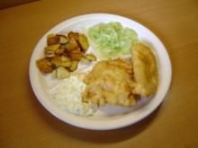 Kirmesfisch mit schneller Remoulade - Rezept