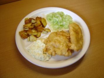 Rezept: Kirmesfisch mit schneller Remoulade