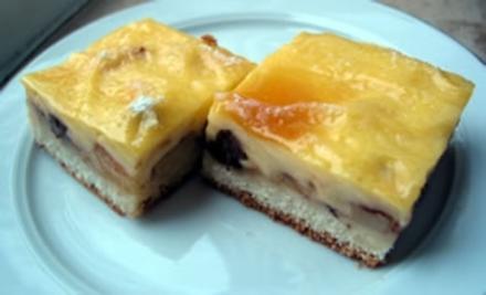 Apfelkuchen mit Pudding - Rezept - Bild Nr. 2