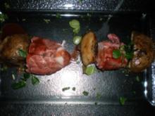Sauerbraten vom Seeteufel mit Steinpilzen - Rezept