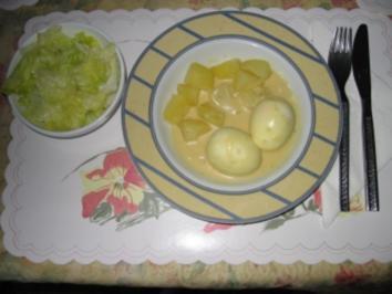 Rezept: Hauptgericht: Eier in Senfsauce