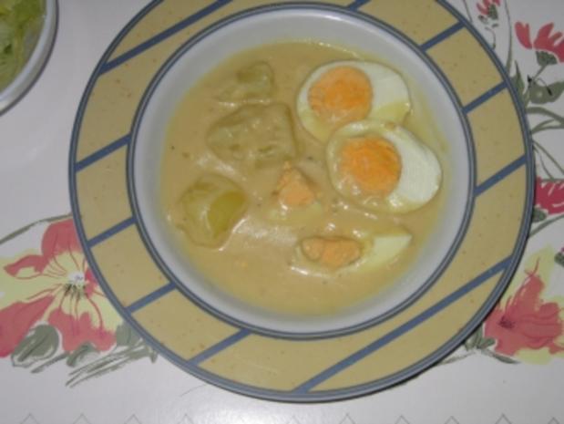 Hauptgericht: Eier in Senfsauce - Rezept - Bild Nr. 3