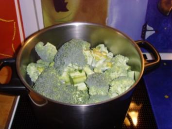 Rezept: Grobe Broccoli Suppe….