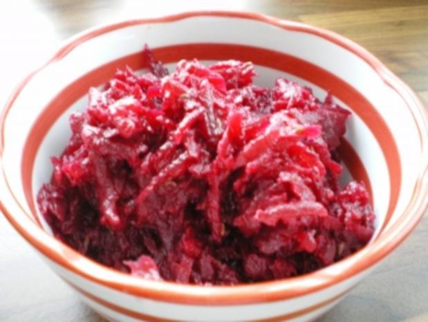 Rote Rüben-Salat - Rezept