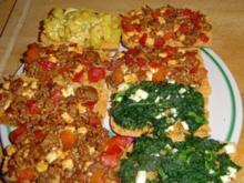 2 - Minuten Pizza - Brötchen - Rezept