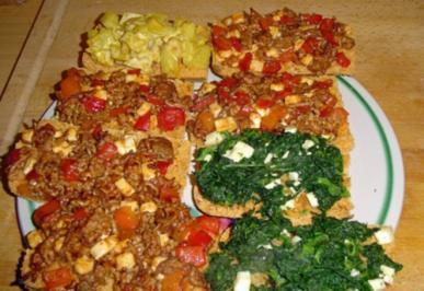 Rezept: 2 - Minuten Pizza - Brötchen