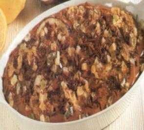 dessert sùssen kuchen aus aubergine - Rezept