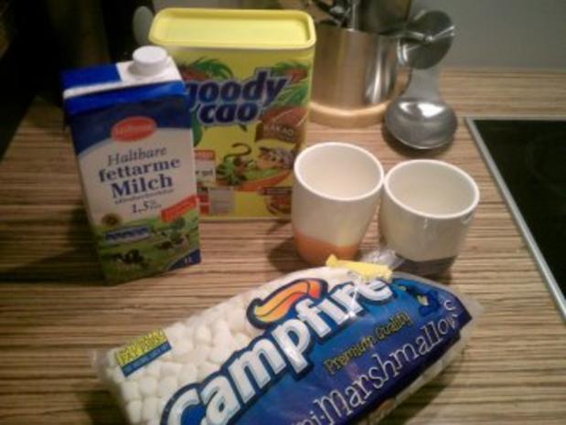 """""""GETRÄNKE"""" Heiße Schokolade mit Marshmallowhaube - Rezept - Bild Nr. 2"""