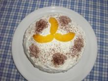 Pfirsich-Schoko-Torte - Rezept