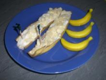 Bananenschnee im eigenen Mantel - Rezept