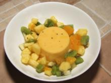 Mango-Kokos-Pudding - Rezept