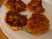 Käse-Porree-Puffer - Rezept