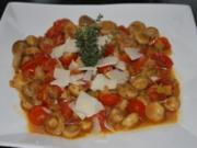 Champignon-Salat mit Parmesan - Rezept