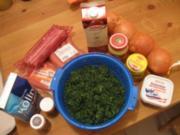 1A Grünkohl mit süßen Kartoffeln und Kasseler an Senfkruste - Rezept