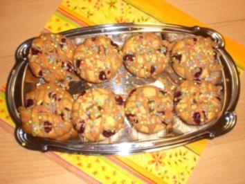 Kirsch-Nougat-Muffins - Rezept