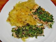 Gebratenes Zanderfilet auf Rahmsauerkraut und Kartoffelküchle - Rezept - Bild Nr. 2
