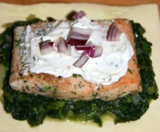 Rezept: Spinat-Lachs-Taschen