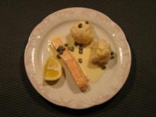 Zitronen- Kapernsoße - Rezept