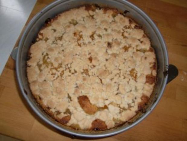 Aprikosen-Streuselkuchen - Rezept - Bild Nr. 2