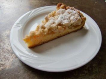 Rezept: Aprikosen-Streuselkuchen