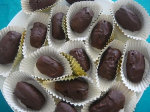 Konfekt: Datteln gefüllt mit Marzipan - Rezept - Bild Nr. 3