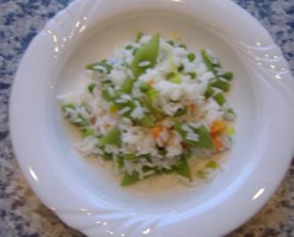 Gemüsereis - Rezept