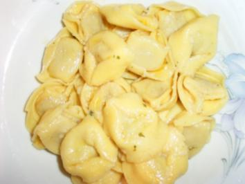 Tortellini mit Butter und Salbei - Rezept