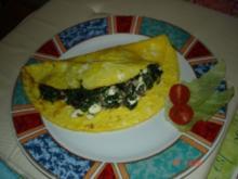 Omelette gün-weiß - Rezept