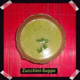Zucchini-Suppe - Rezept