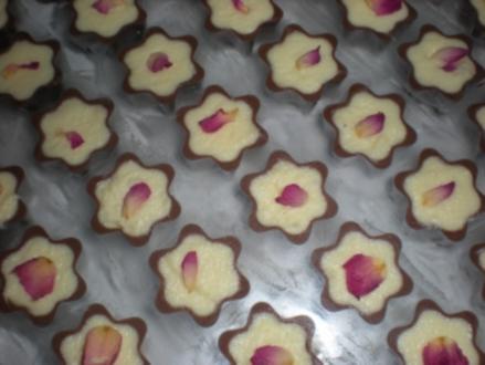 Schoko-Mousse-Sterne - Rezept