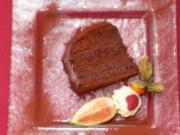Dunkle Schokoladentorte mit Crème Canache - Rezept - Bild Nr. 8